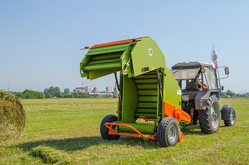 Rotobaler R12/155 Super with baler twine tier
